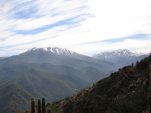 A picture from Pochoco while doing trekking in Chile.